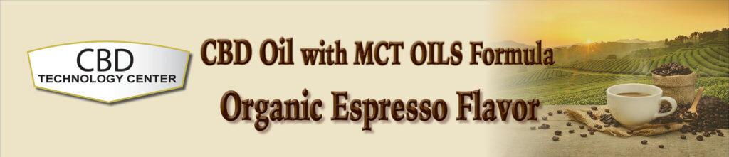 Espresso Flavored CBD Oil with MCT Oil