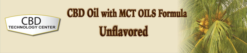 CBD Oil Unflavored with MCT Oil