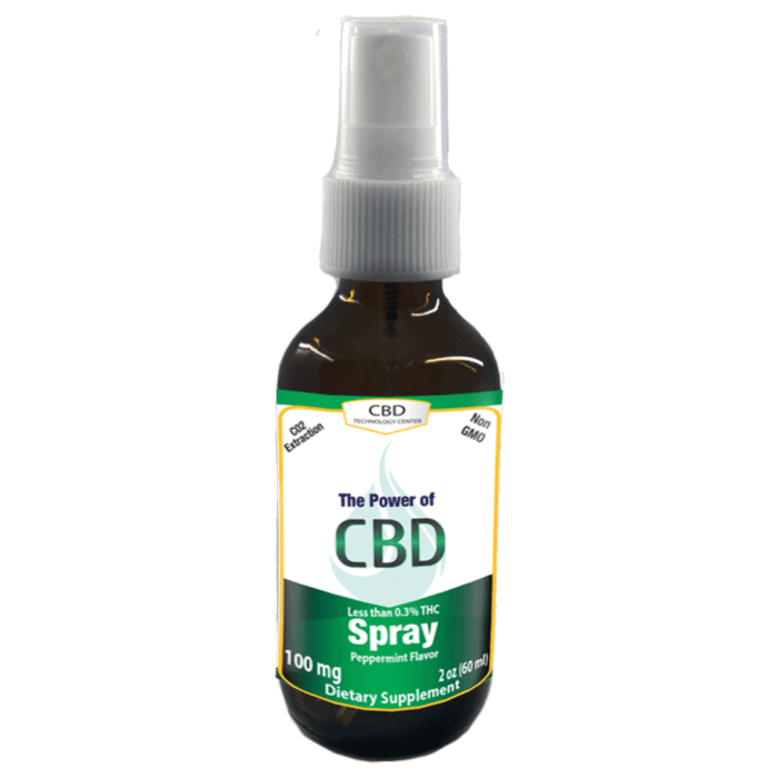 cbd spray 100mg