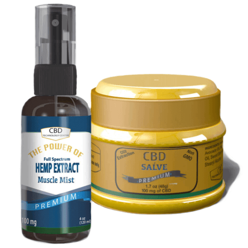 Combo Mist and Salve 100mg